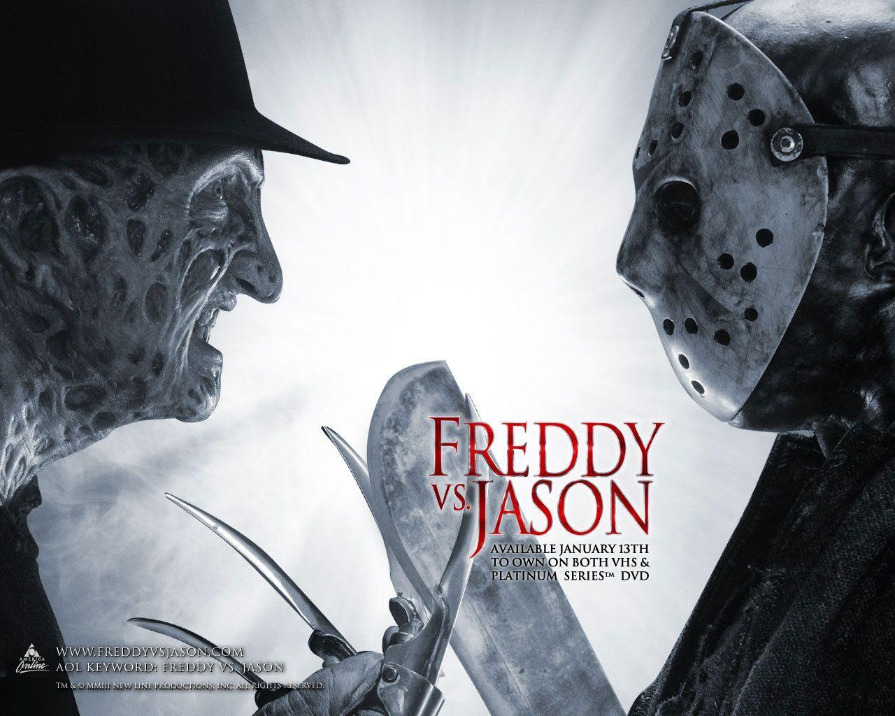 Freddy Vs Jason With Images Freddy Krueger Jason Voorhees