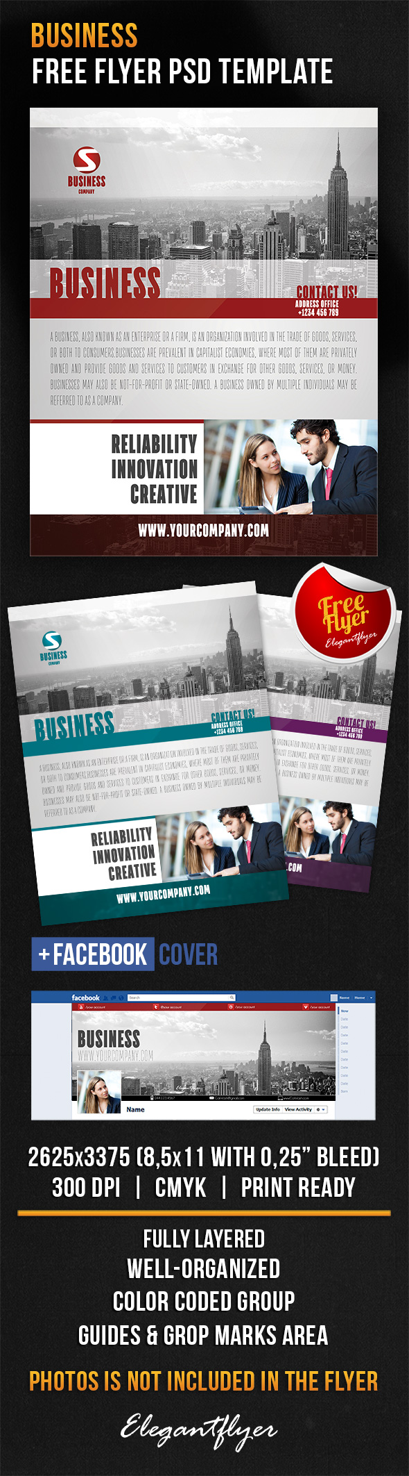 business flyer psd template facebook cover business flyer psd template facebook cover elegantflyer