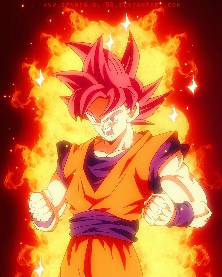 Red Haired Super Saiyan God Seems To Be A Lot More Popular In The