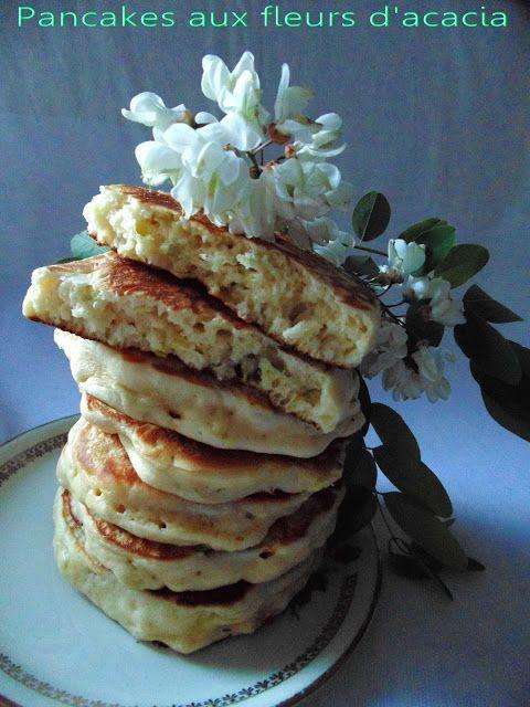 GATEAU GAGA - Love cakes: Pancakes aux fleurs d'acacia