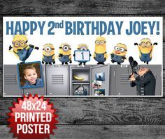 Custom Birthday Banner from PaperBlast.com!