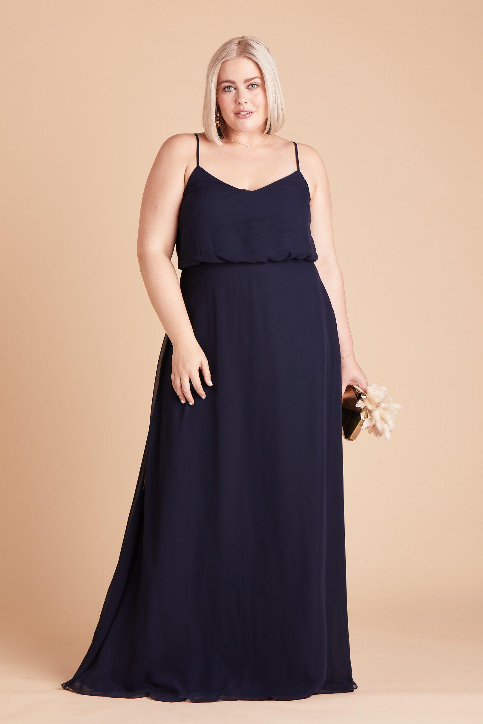 Gwennie dress curve navy in 2020 bridesmaid dresses
