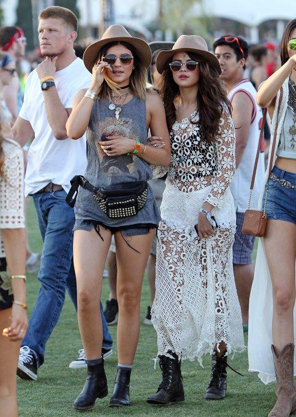 Robe blanche de style bohème transparente de Selena