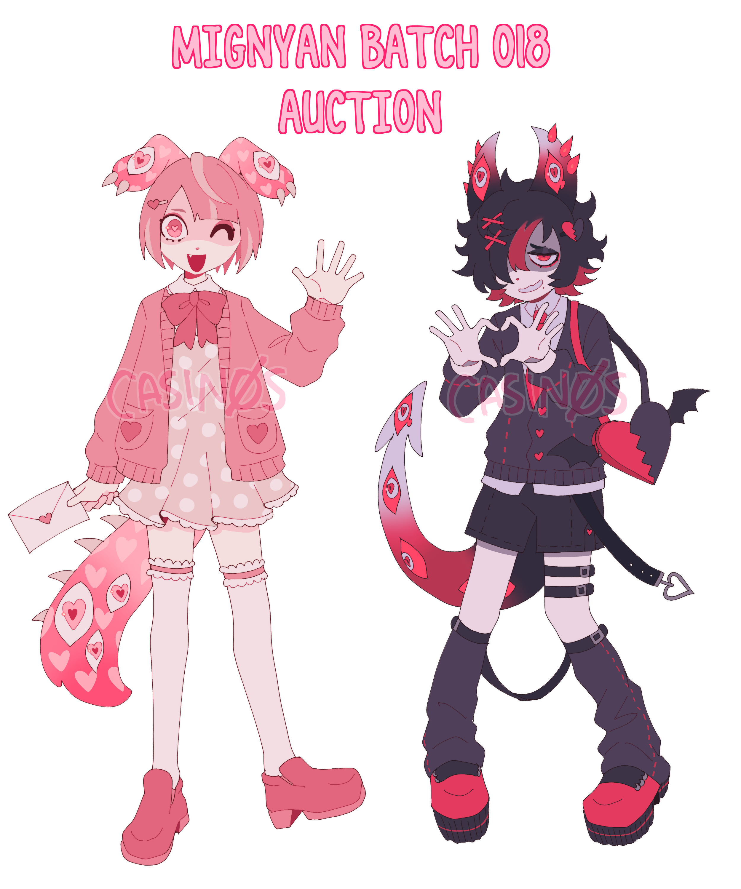mignyan batch 018 AUCTION (CLOSED) by CASIN0S on