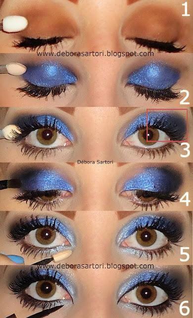 Elegantes Maquillaje De Fiesta De Noche Realizados Paso A Paso Para Que Puedas Realizaros Tu Misma Sombras De Ojos Maquillaje Ojos Azules Maquillaje De Ojos