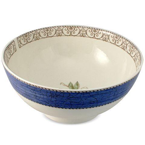 Sarahs Garden Wedgwood Bowl Blue 20cm