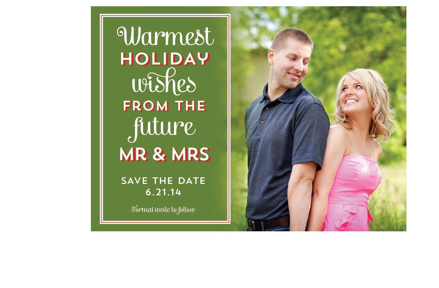 Christmas Card / Save the Date | www.urbanimaging.com | Wedding ...
