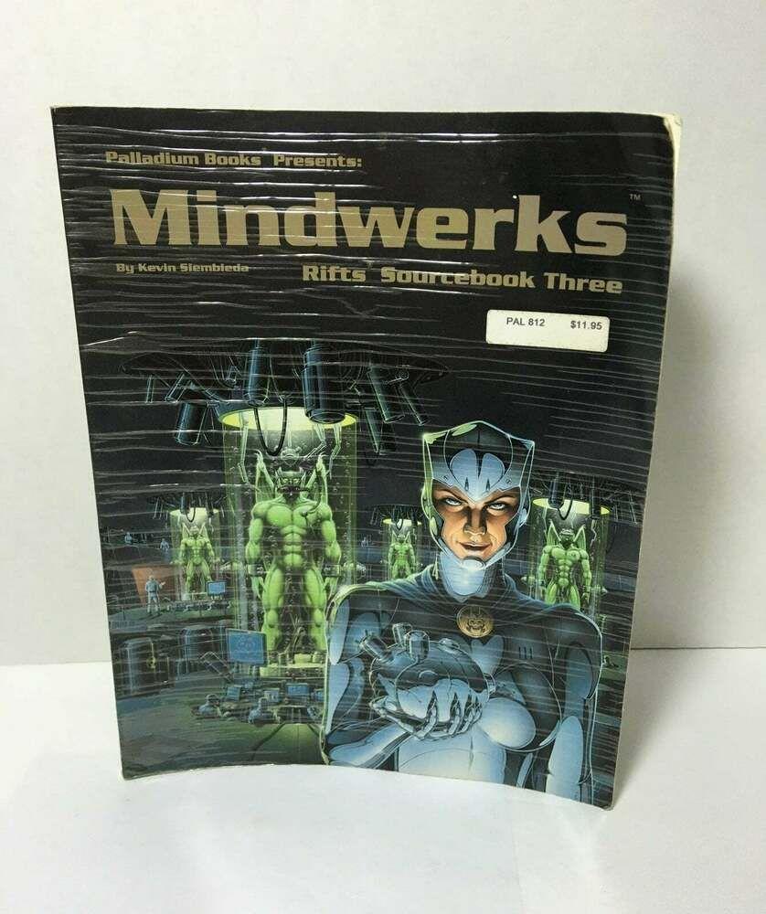Palladium Rpg Christmas 2021 Mindwerks Rifts Sourcebook 3 By Kevin Siembieda 1994 Trade Paperback 9780916211691 Ebay In 2021 Rift Paperbacks Rpg