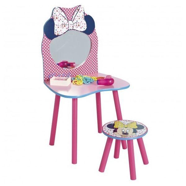 Coiffeuse Disney Minnie.   Mobilier enfant, Chambre enfant et Mobilier