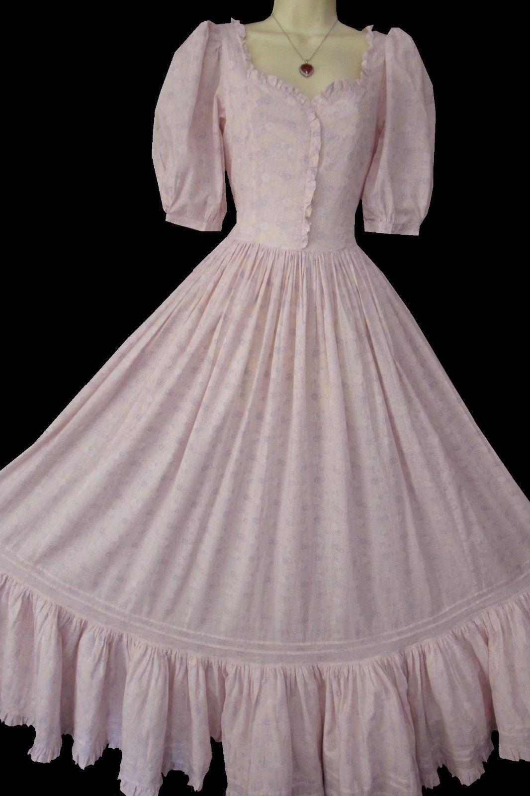 Rare Vintage Laura Ashley Victorian Style Pink Floral Maxi Dress Uk 8 10 Pink Floral Maxi Dress Floral Maxi Dress Victorian Fashion [ 1600 x 1066 Pixel ]