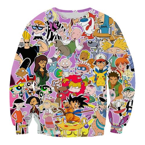 Powerpuff Girls 90s Nostalgia Cartoon Classic Cute Unisex Kids Tee Youth T-Shirt