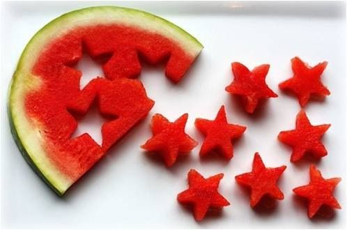Watermelon for the 4th of July!