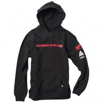 Factory Effex Official Honda Youth Sweatshirt Jacket Pullover Hoody