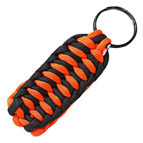 How to make a paracord keychain easy diy crafts for for Paracord keychain projects