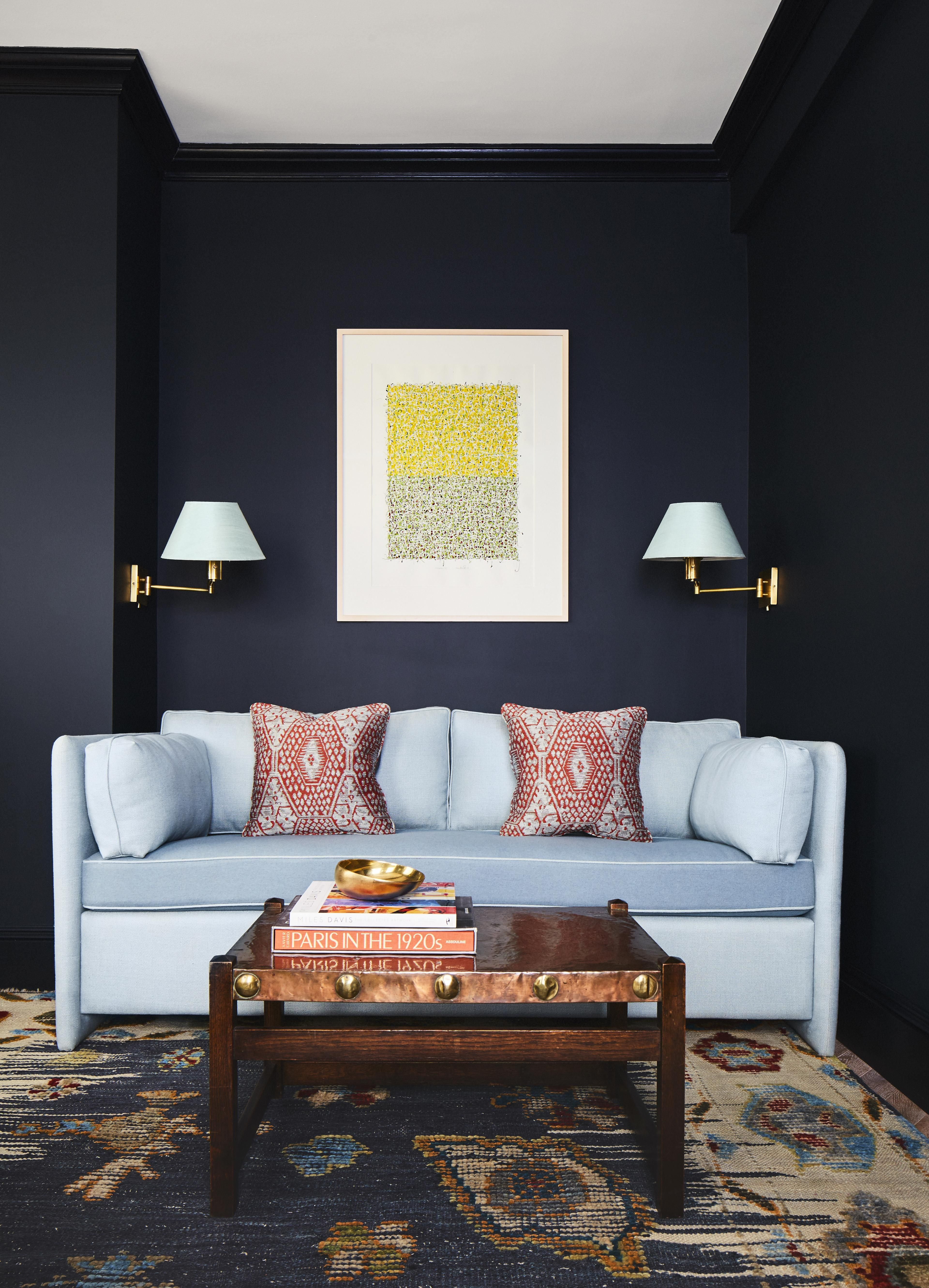 Attractive BLUE BLACK PAINT JOBS ICYMI, Matte Black Urrythang Is The Premiere Trend Of  Fall And When It Comes To Walls, Just About Every Color Agency Is Dubbing  Deep ...