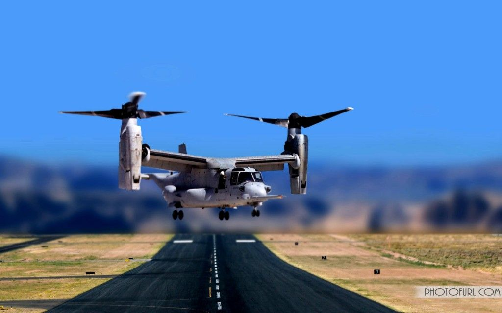 Osprey Tilt-Rotor Aircraft