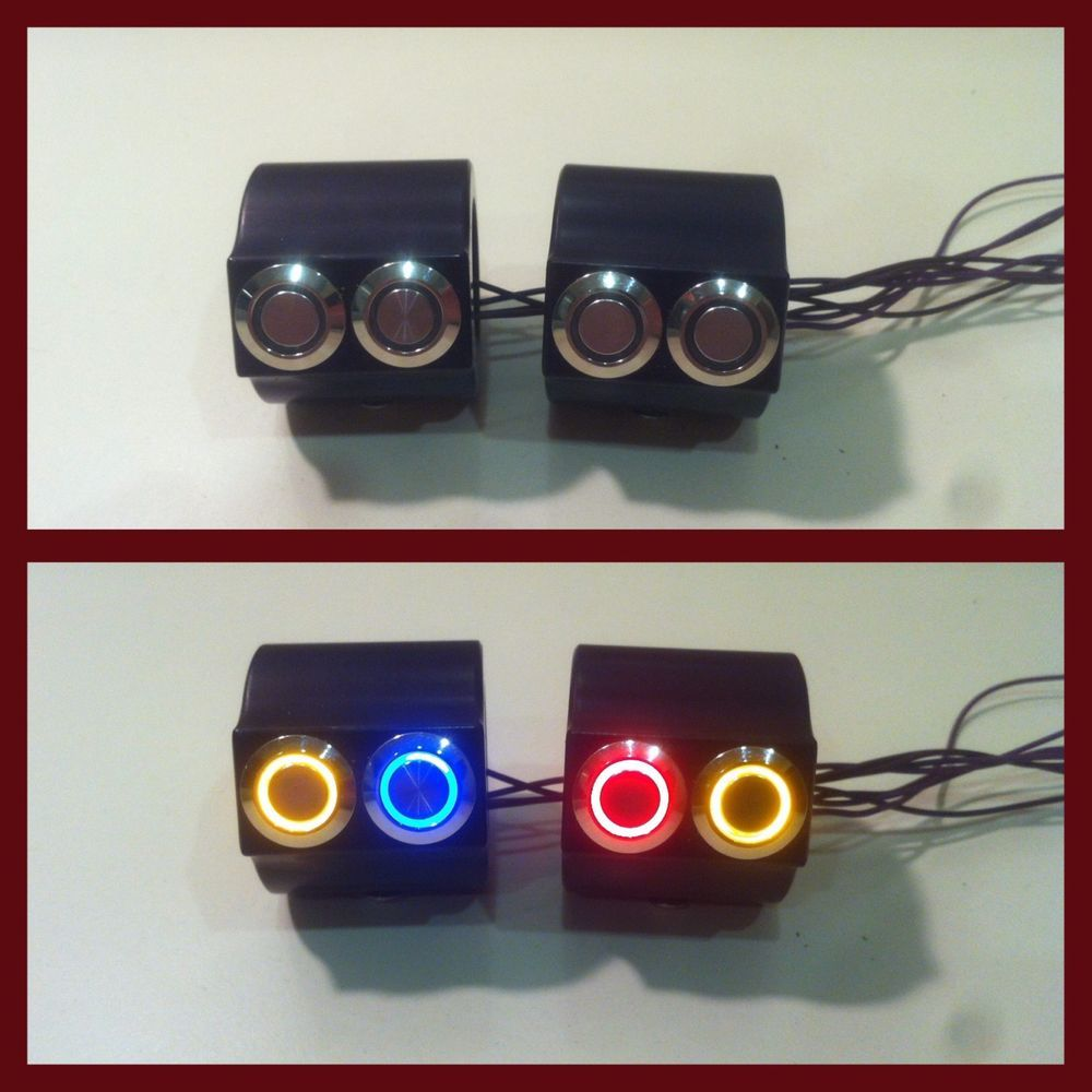 Mini Motorcycle Handlebar Switch Block Switch Housing 7 X2f 8 Quot Ebay Motors Parts Amp Accessories Motorcycle Parts Ebay