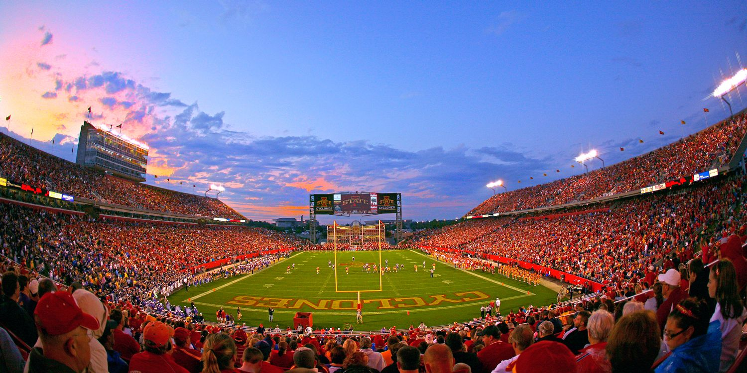 Jack Trice Gameday With Images Iowa State Cyclones Iowa