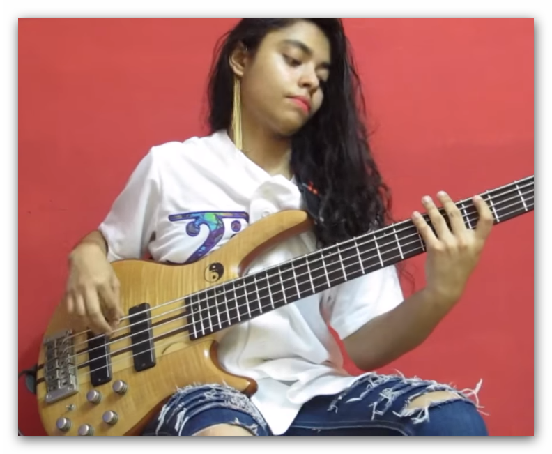Amazing Young Bassist Mohini Dey Bassist Young My Music