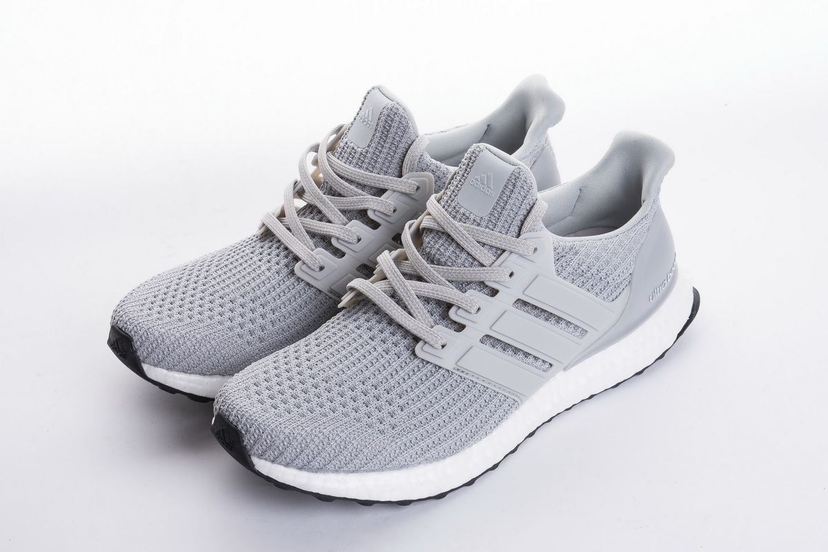"c947a0974884a Adidas Ultra Boost 4.0 ""Light Grey"" BB6167 Real Boost4"