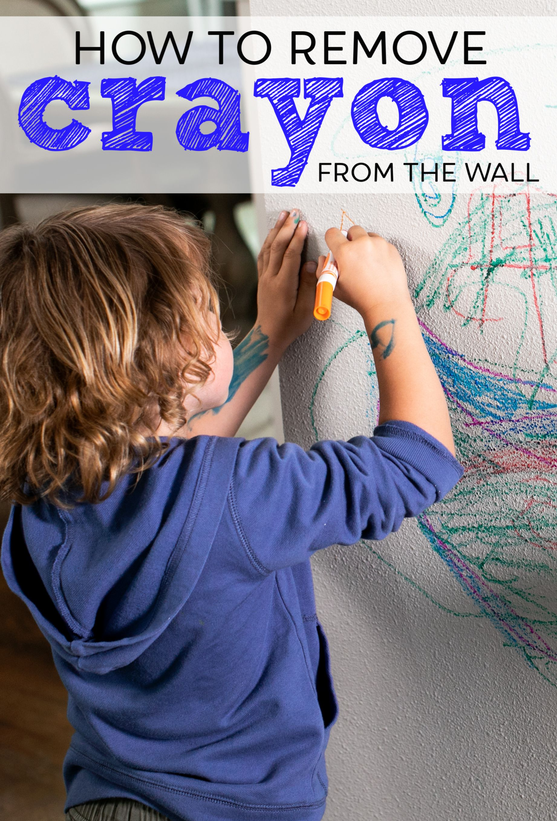 How To Get Crayon Off Walls In 2020 Cleaning Hacks Removing