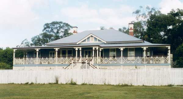 Australian Homestead Just Because Colonial House Exteriors