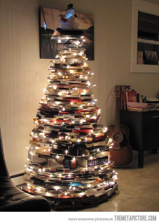 A Bookworm S Christmas Tree My Home Christmas Book Christmas
