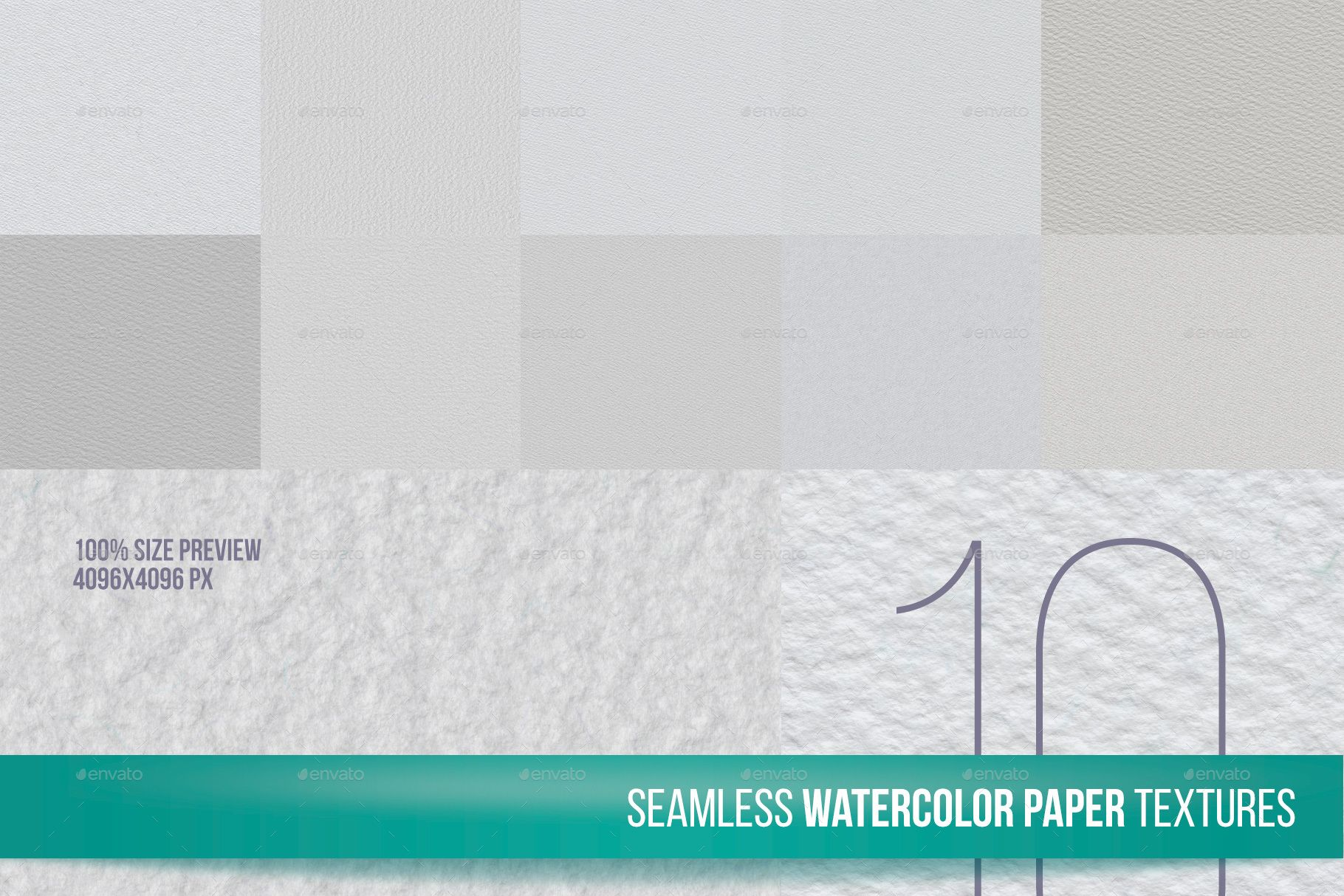 10 Seamless Watercolor Paper Texture Watercolor Paper Texture