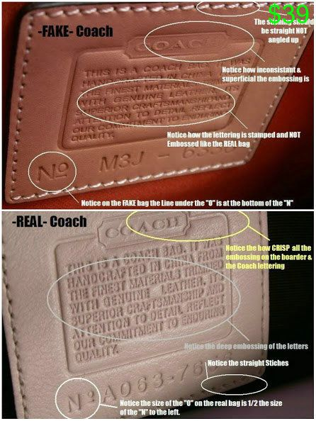 How To Spot A Fake Coach Bag Pictures And Videos Here Vintage Coach Bags Coach Bags Outlet Coach Bags
