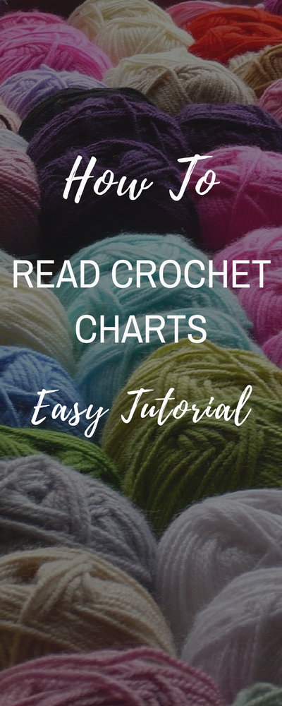 How to Read Crochet Charts #crochettutorial