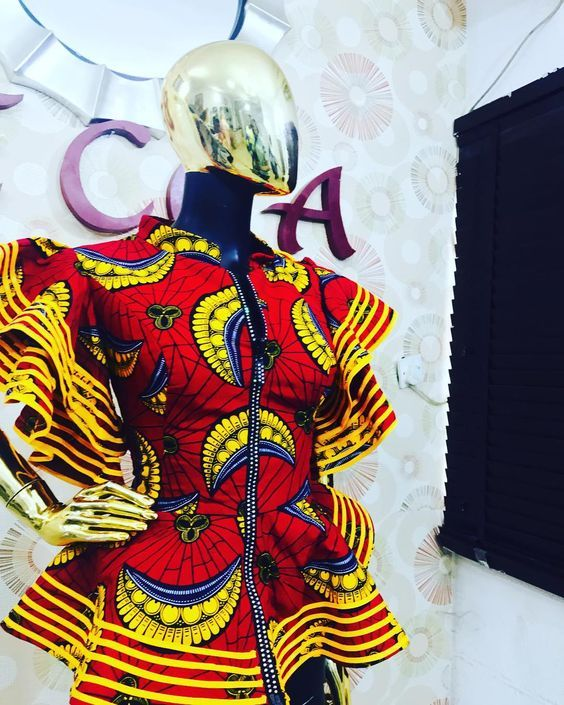 2020 Contemporary Ankara Styles For African Ladies To Rock | Correct Kid