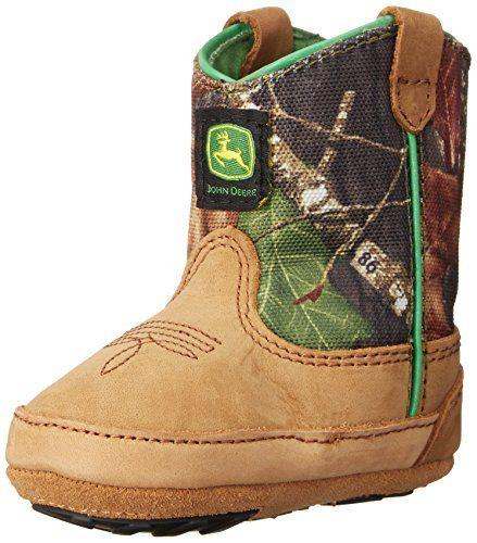 John Deere 188 Western Boot (Infant/Toddler),Camouflage,1 M US Infant John Deere http://www.amazon.com/dp/B0016P4FU4/ref=cm_sw_r_pi_dp_6YMCub05FK3SD                                                                                                                                                                                 More