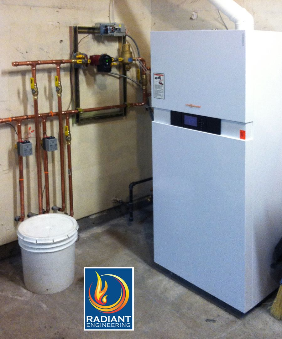 Viessmann boilers for high efficiency hydronic heating - Radiant ...