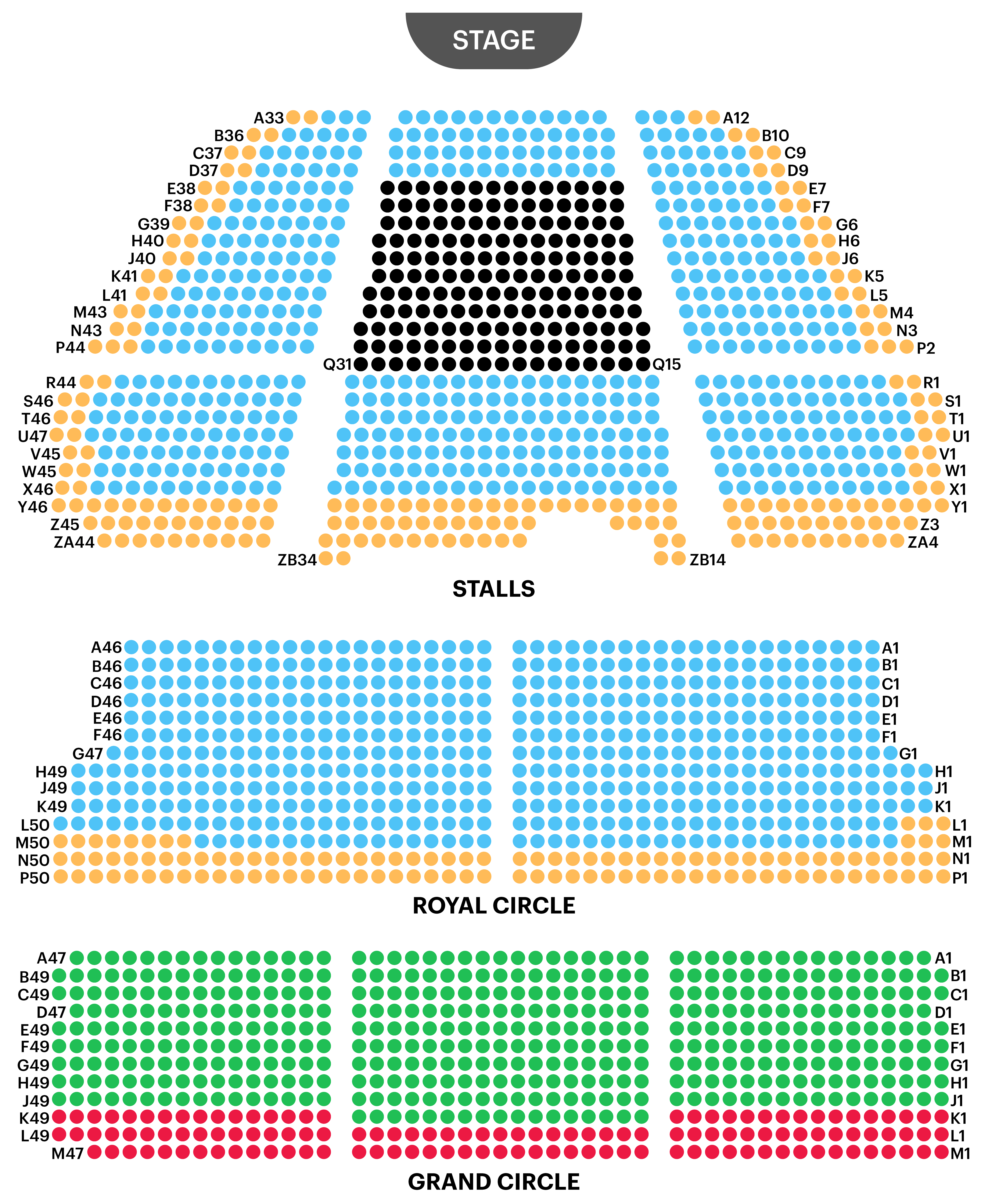 Lyceum Theatre Seating Plan Watch The Lion King At West End Watch The Lion King Seating Plan Theater Seating