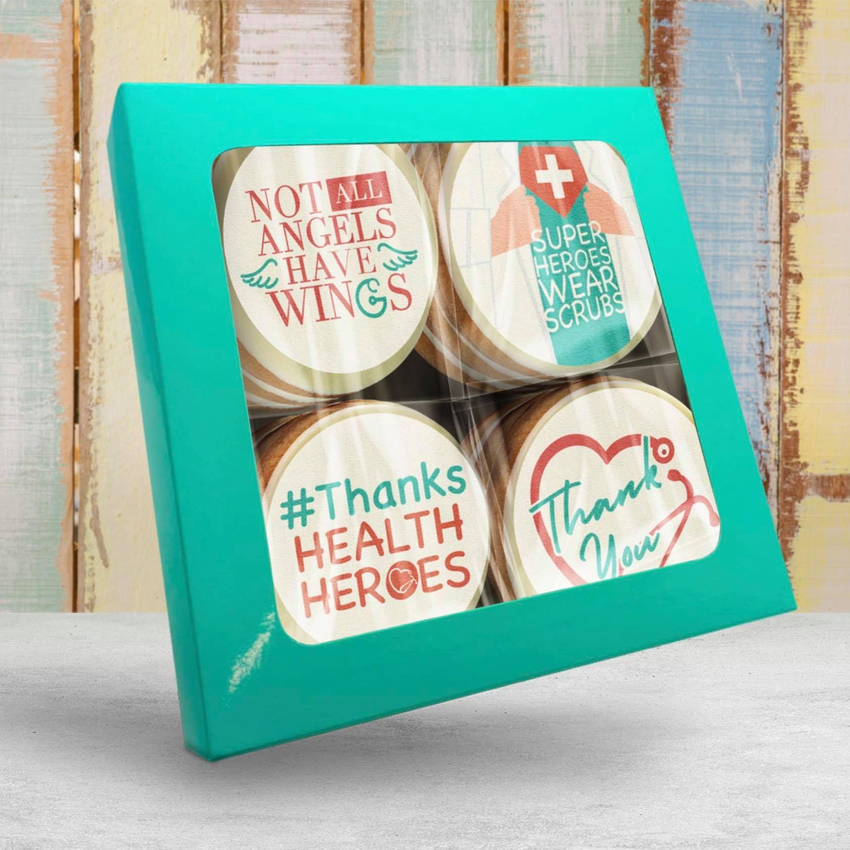 Health care hero cookies