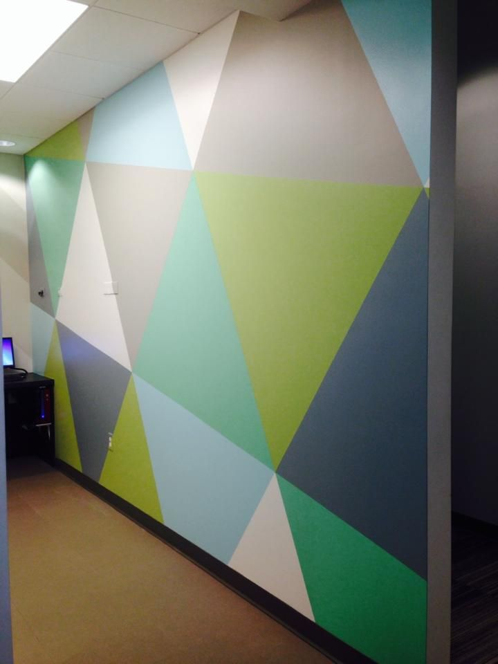 this is a fun accent wall for an orthodontist s office on office accent wall color id=71932