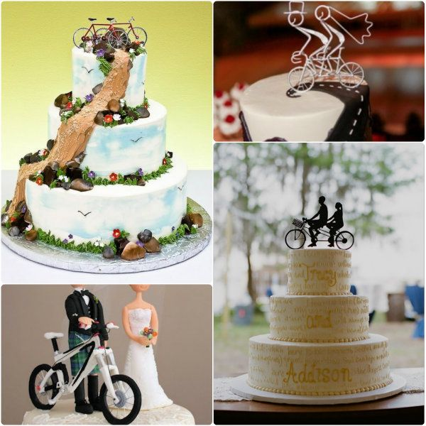 2014 hochzeitstorte mit fahrrad tortenfigur online 2 wedding pinterest postres wedding. Black Bedroom Furniture Sets. Home Design Ideas