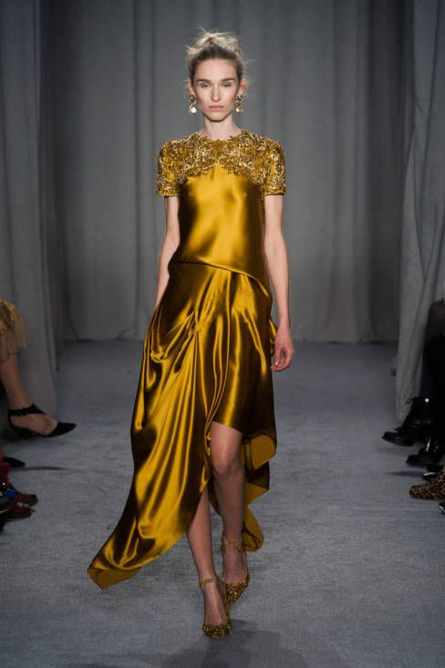 Marchesa Fall 2014 Ready-to-Wear Runway - Marchesa Ready-to-Wear Collection