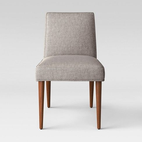 Visage Mid Century Dining Chair Gray Project 62