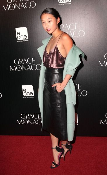 Grace of Monaco Australian Premiere in burberry, Alexander Wang, Nicholas & Oscar Tiye (via gettyimages)