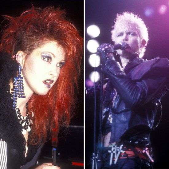 Punk Goes Pop History Of Bright Big Haircolor