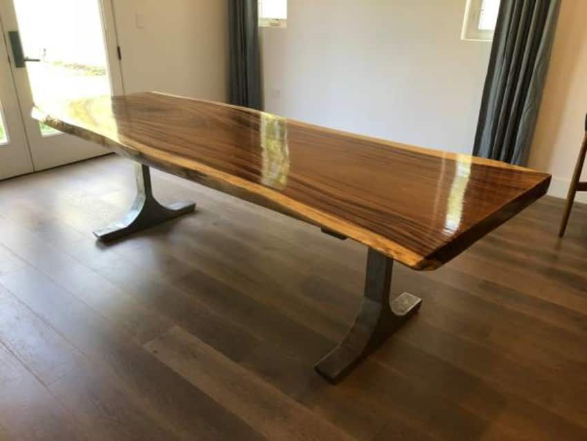 Sensational Beautiful Live Edge Wood Dining Table Custom Made Ibusinesslaw Wood Chair Design Ideas Ibusinesslaworg