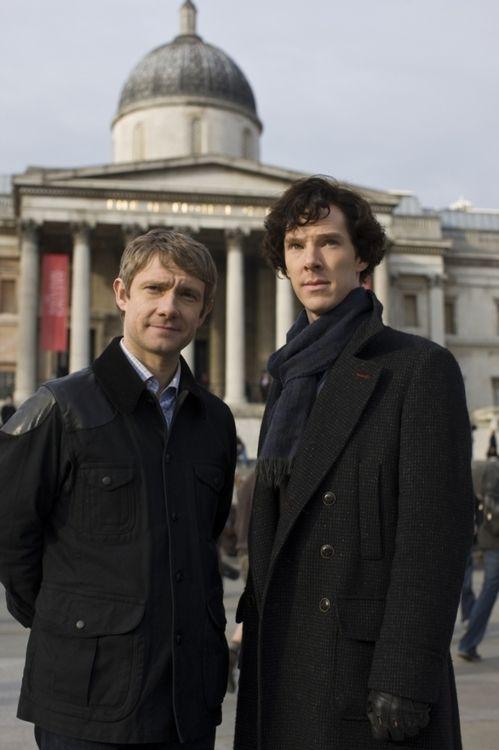 Sherlock Holmes and Dr Watson, I presume Sherlock Holmes