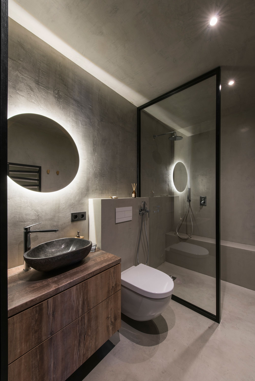 Modern Industrial Bathroom Design Trendecors