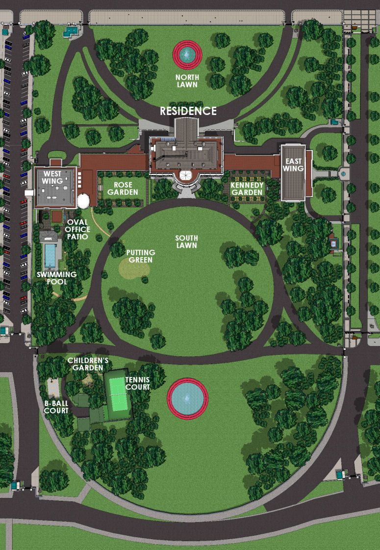 Pictures Of The White House Grounds White House Grounds