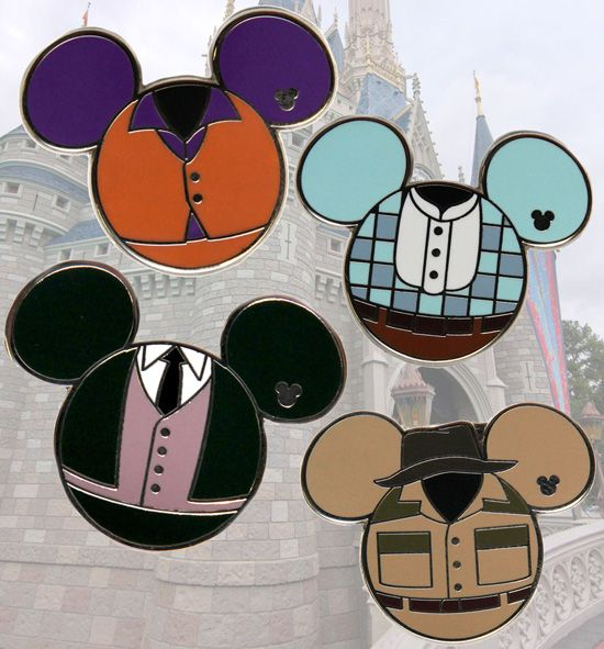e866ec680c1 Cast Member Costume Hidden Mickey Pins Coming This Summer to Disney Parks