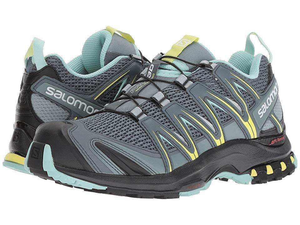 Salomon XA Pro 3D Shoe for Women, Stormy Weather Lead Eggshell Blue 9