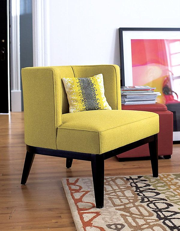 Amazing New Colorful Furniture Finds To Brighten Your Home. Yellow Accent ...