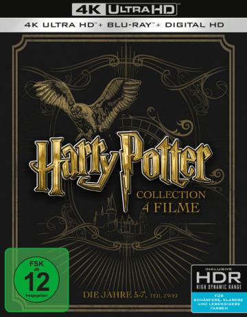 Harry Potter Jahre 5 7 8 Disc Set 4k Ultra Hd Uhd Blu Ray Disc Harry Potter Film Blu Ray Orden Des Phoenix