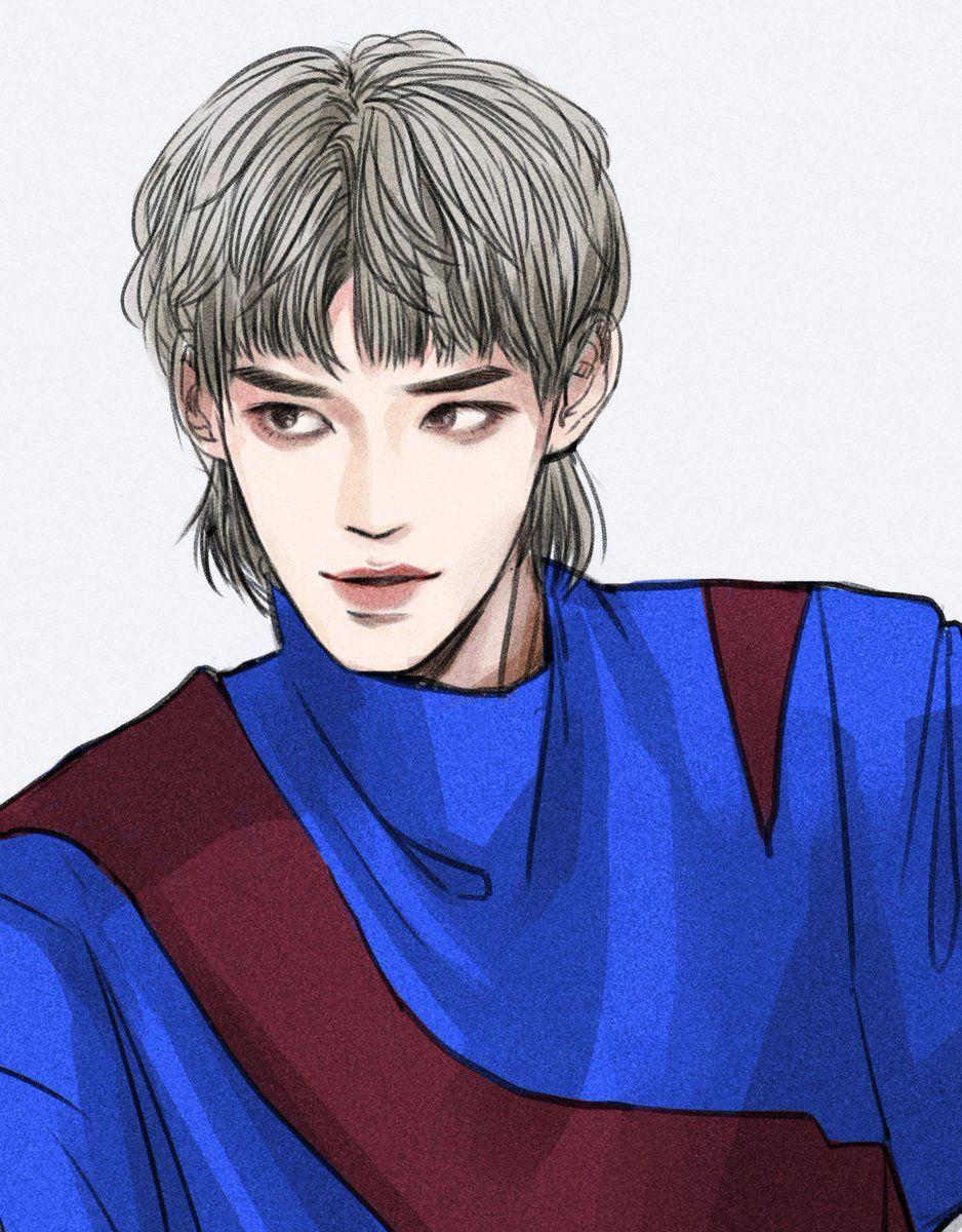 Taeyeong Nct Nct Lukisan Gambar